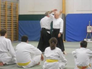 Aïkido avec le Rasen Aïki Club