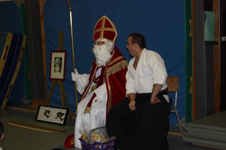 Saint-Nicolas découvre l'Aïkido