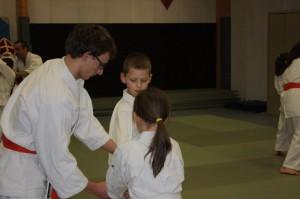 Cours d'Aïkido enfant