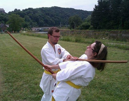 Cours d'Aïkido à Floreffe