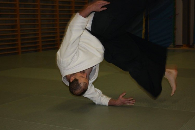 Aikido cours spécial ukemi