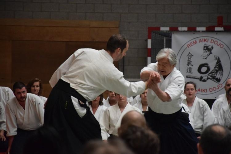 Yamada Sensei, 8ème Dan Aïkido