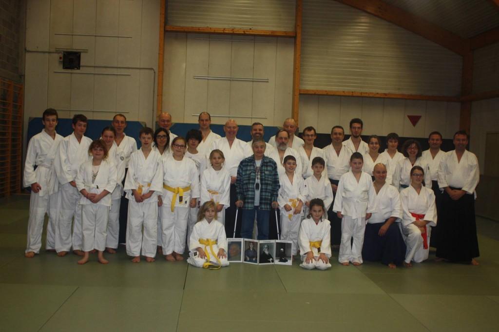 Stage d'Aïkido avec Anita Bonnivert et Christian Boisdenghien