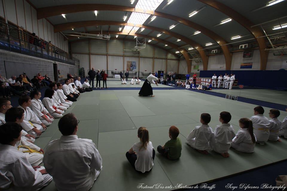 aïkido pour enfants et adultes à Floreffe