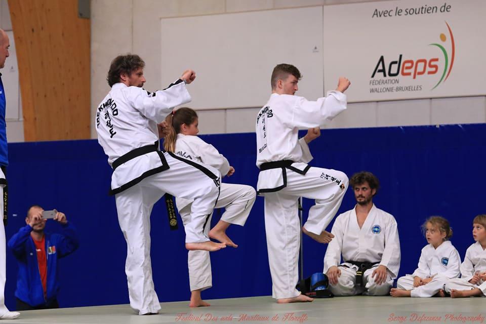 taekwondo à Floreffe
