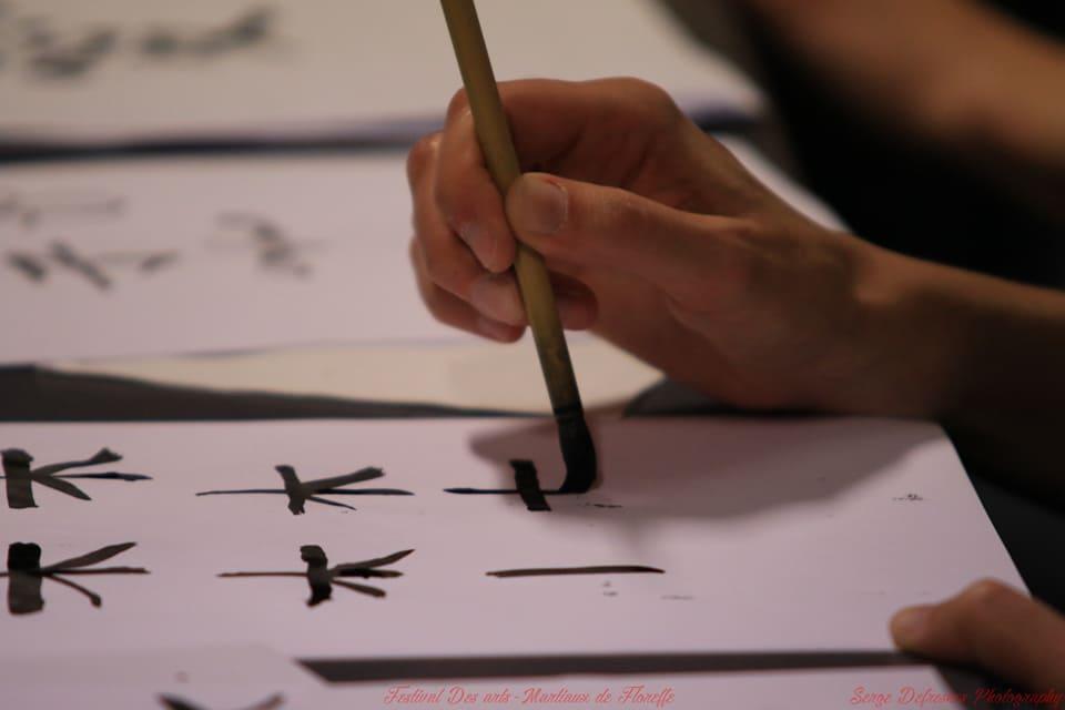calligraphie, shogi et furoshiki