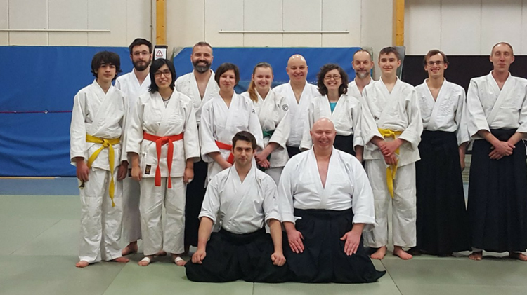 Kishinkaï au Kokki Dojo : cours spécial avec Arnaud Lejeune