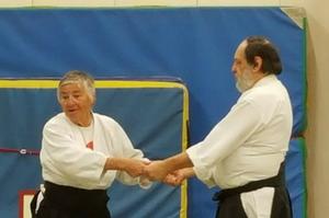 Aïkido Koichi Tohei avec Anita Bonnivert