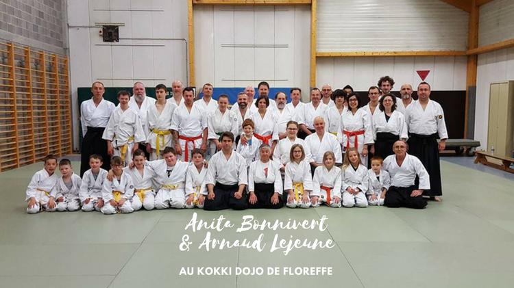 Anita Bonnivert et Arnaud Lejeune au Kokki Dojo de Floreffe
